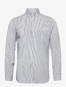 Fling Stripe Shirt - avslappede skjorter - white