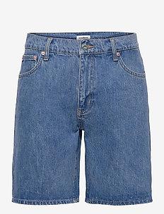 Doc Stone Blue Shorts - denim shorts - vintage blue