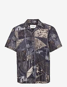 Srink Cuba Shirt - kurzarmhemden - navy