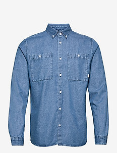 Pikan Denim Shirt - karierte hemden - blue