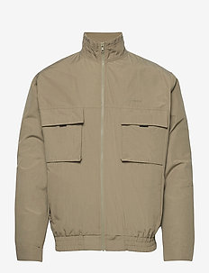 Frui Muton jacket - bomberjacken - sand