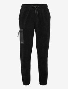 Zling Fleece Pants - joggingbroek - black