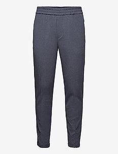 Saul Comfy Pants - pantalons décontractés - navy mel.