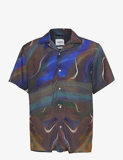 Maha Cuba shirt - geruite overhemden - brown