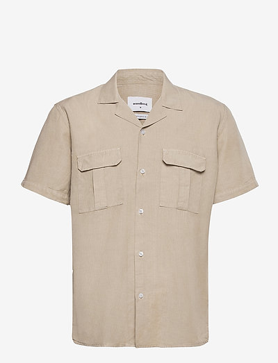 Grix Jungle Shirt - koszule lniane - sand