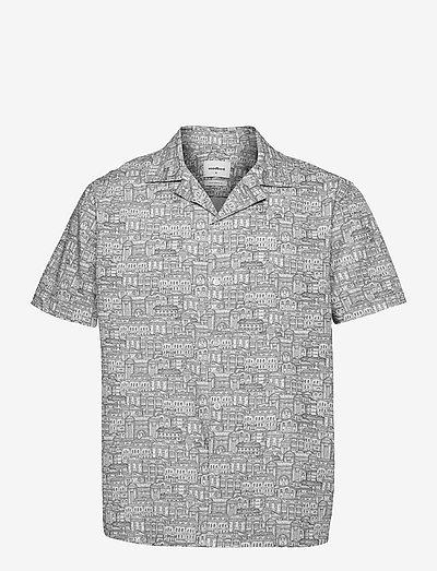 Mays City Shirt - koszule lniane - white