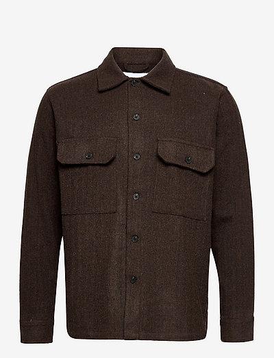 Glixto Line Shirt - góry - brown