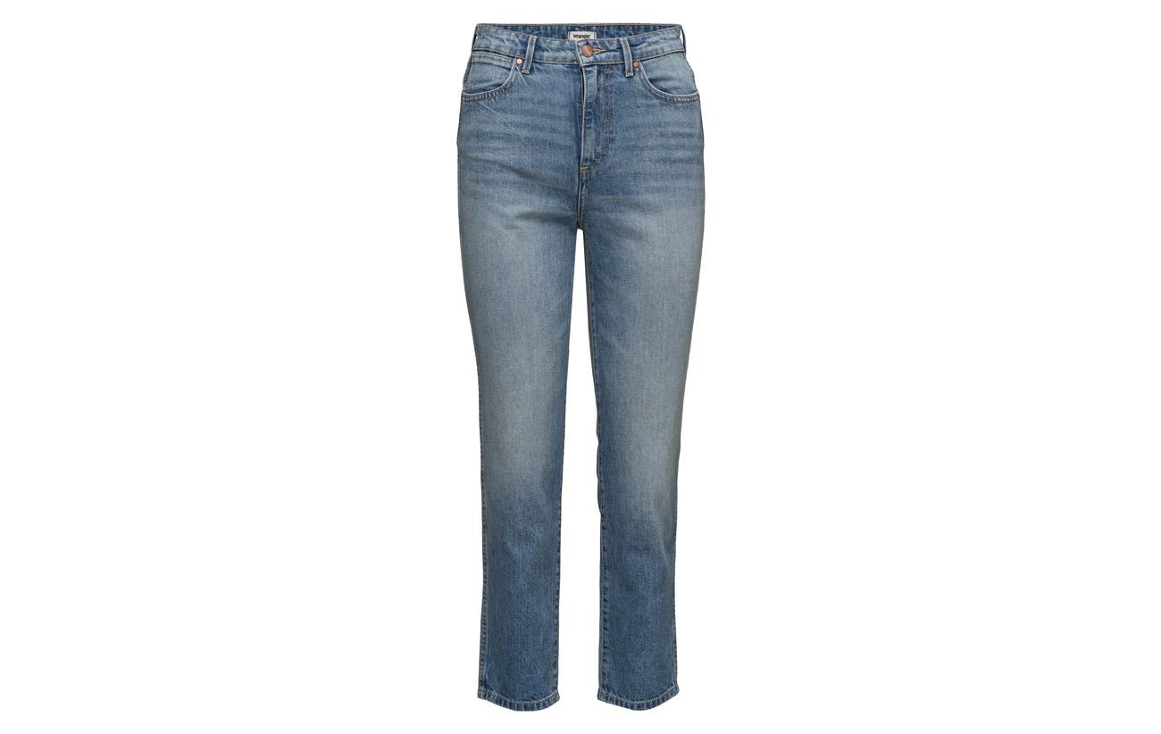 100 Wrangler Blue Retro Coton Slim vTzWYPzA