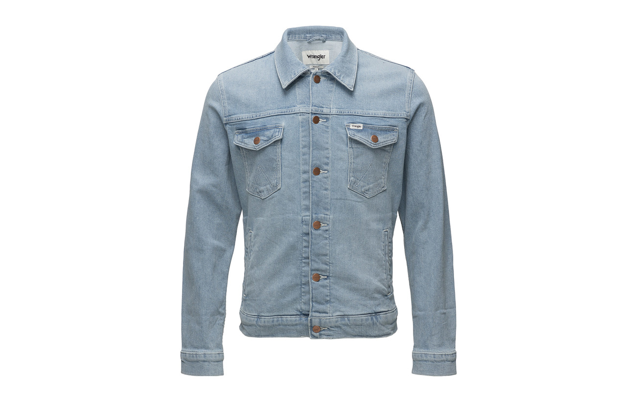 Mid Jacket Mid Regular Regular Jacket Wrangler Wrangler Bleach Bleach xwCZqRa