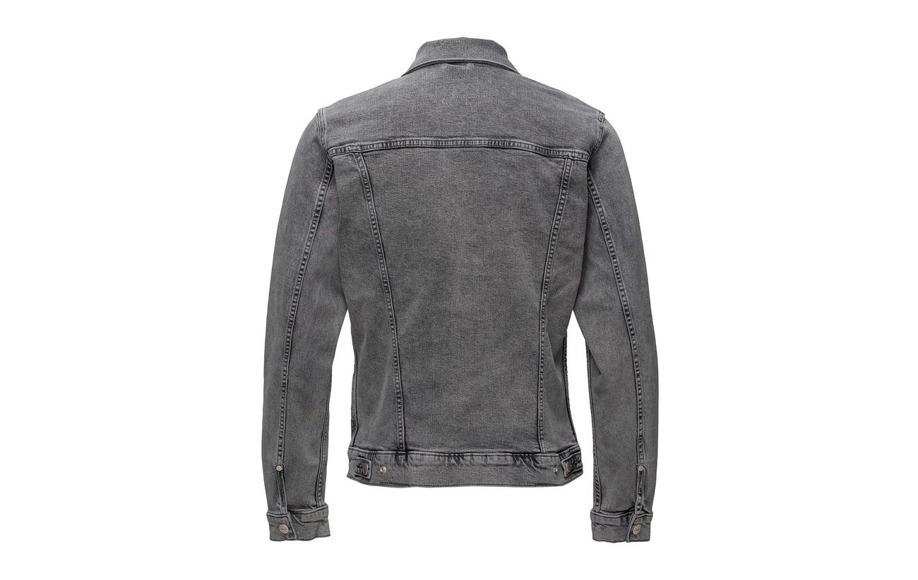 Black Wrangler Wrangler Regular Regular Jacket Bleached wYFXgqd