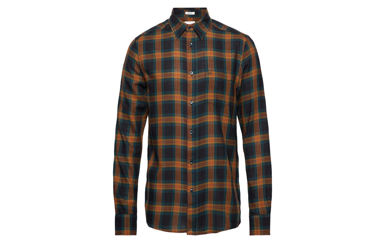 Ls Shirt Green Wrangler 1pkt Spruce FqZExnFwTd