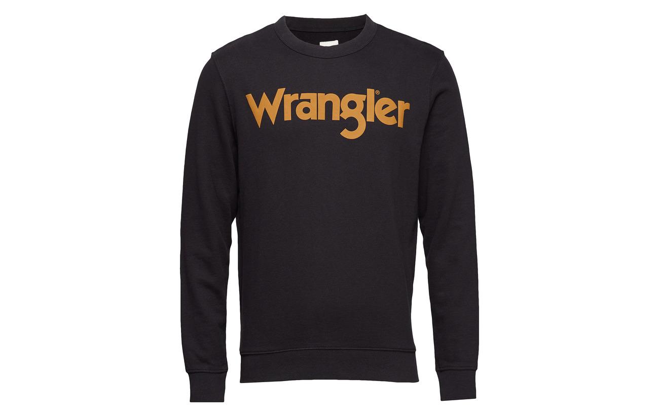 Crew Wrangler Logo Wrangler Black Logo qxq1PZ80