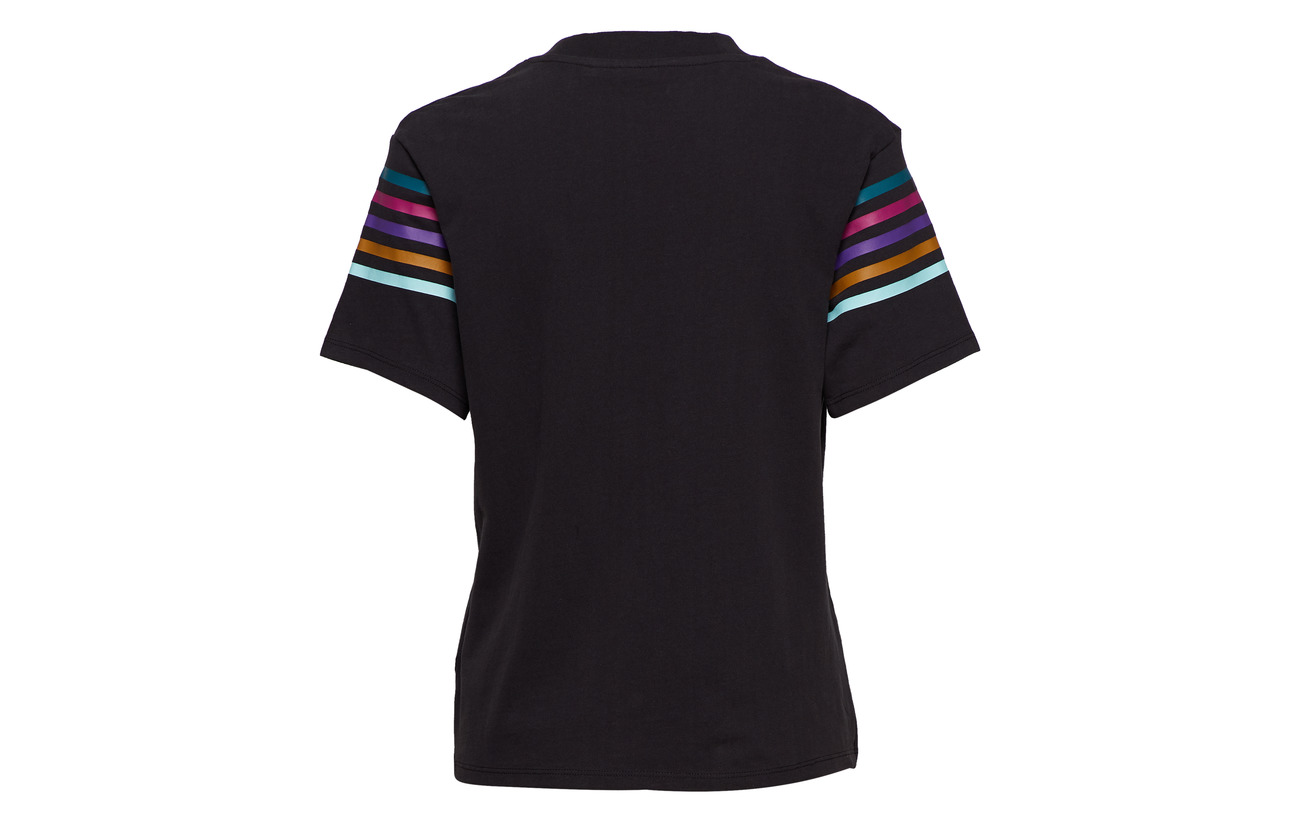 Tee Wrangler Faded Rainbow Black Coton 100 Hxq5RA