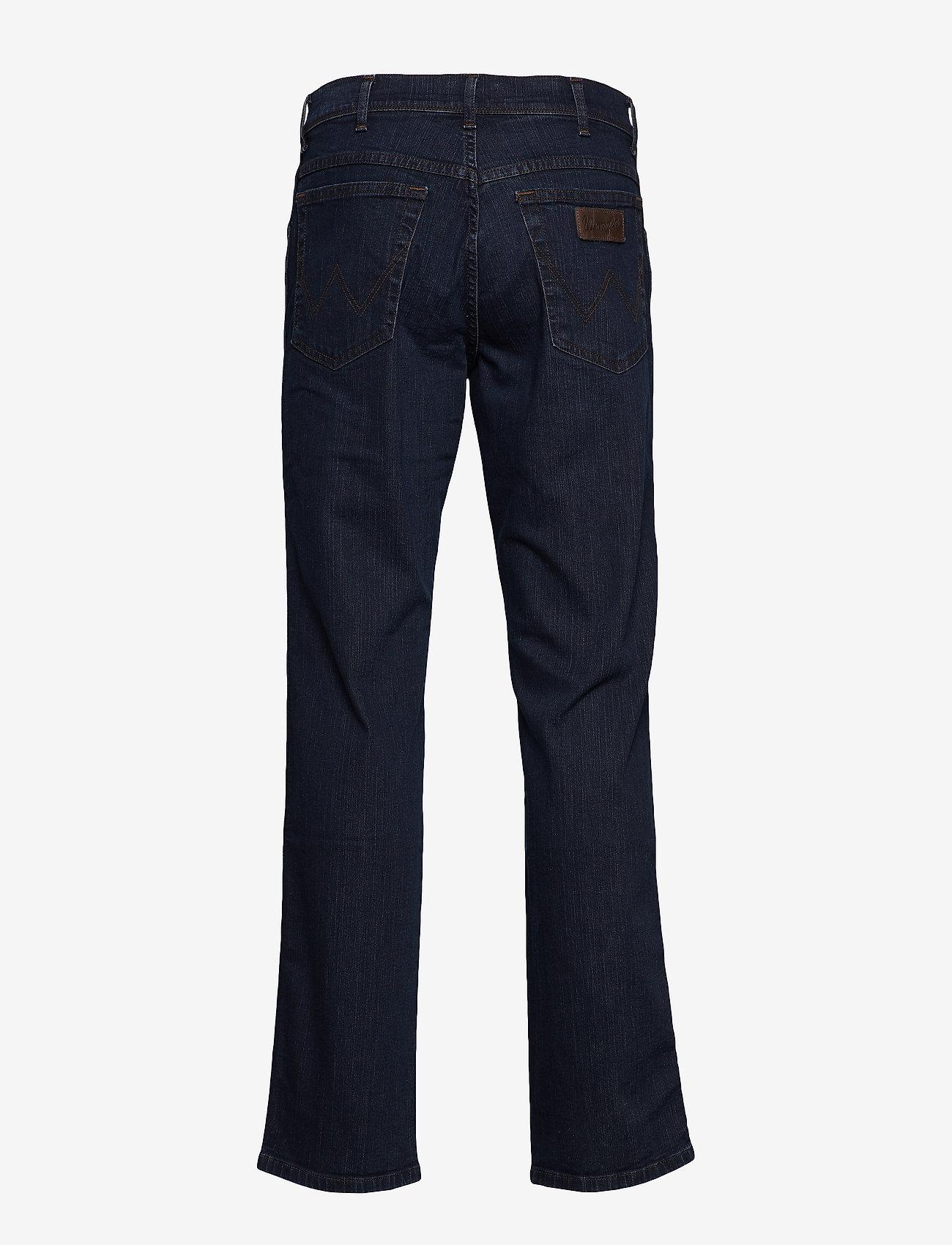 Wrangler TEXAS STRETCH BLUE - Jeans BLUE BLACK - Menn Klær