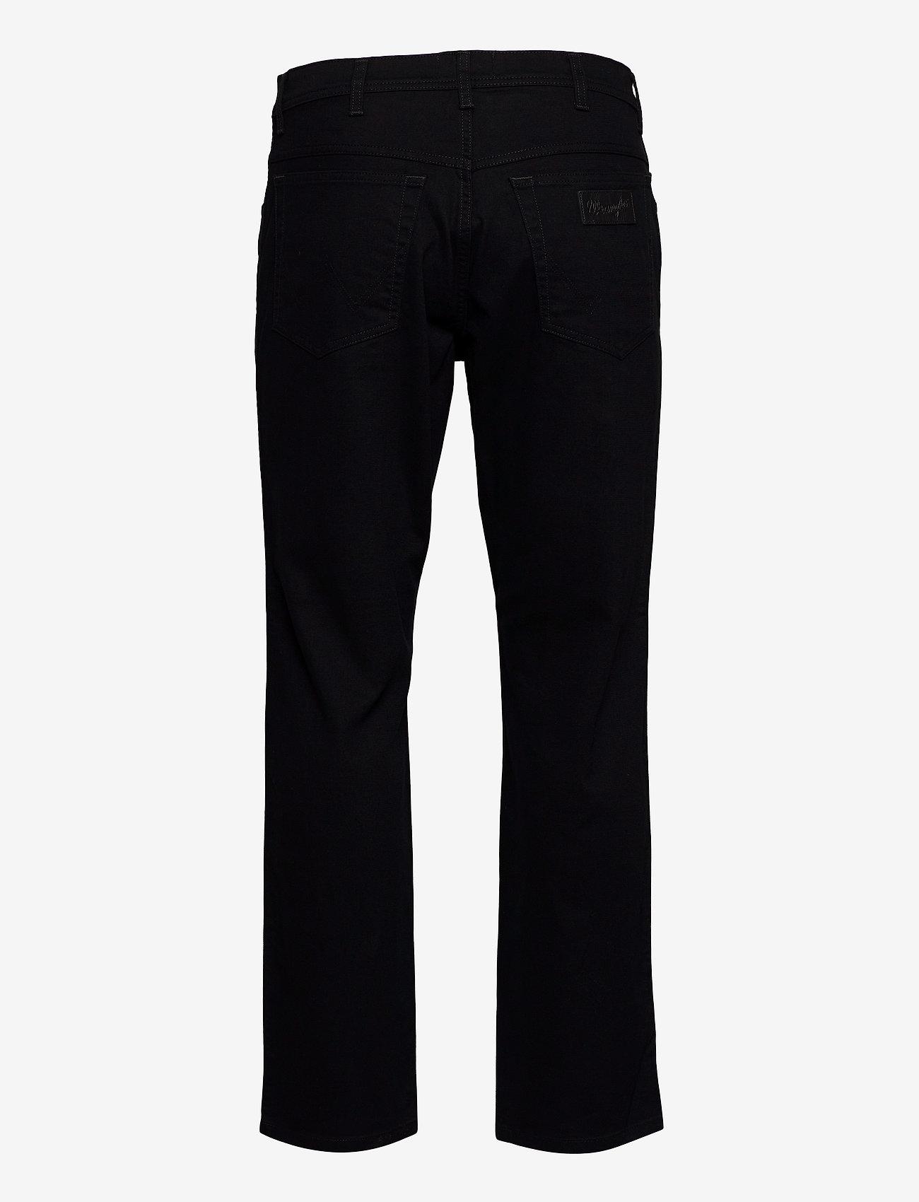 Wrangler TEXAS - Jeans BLACK - Menn Klær