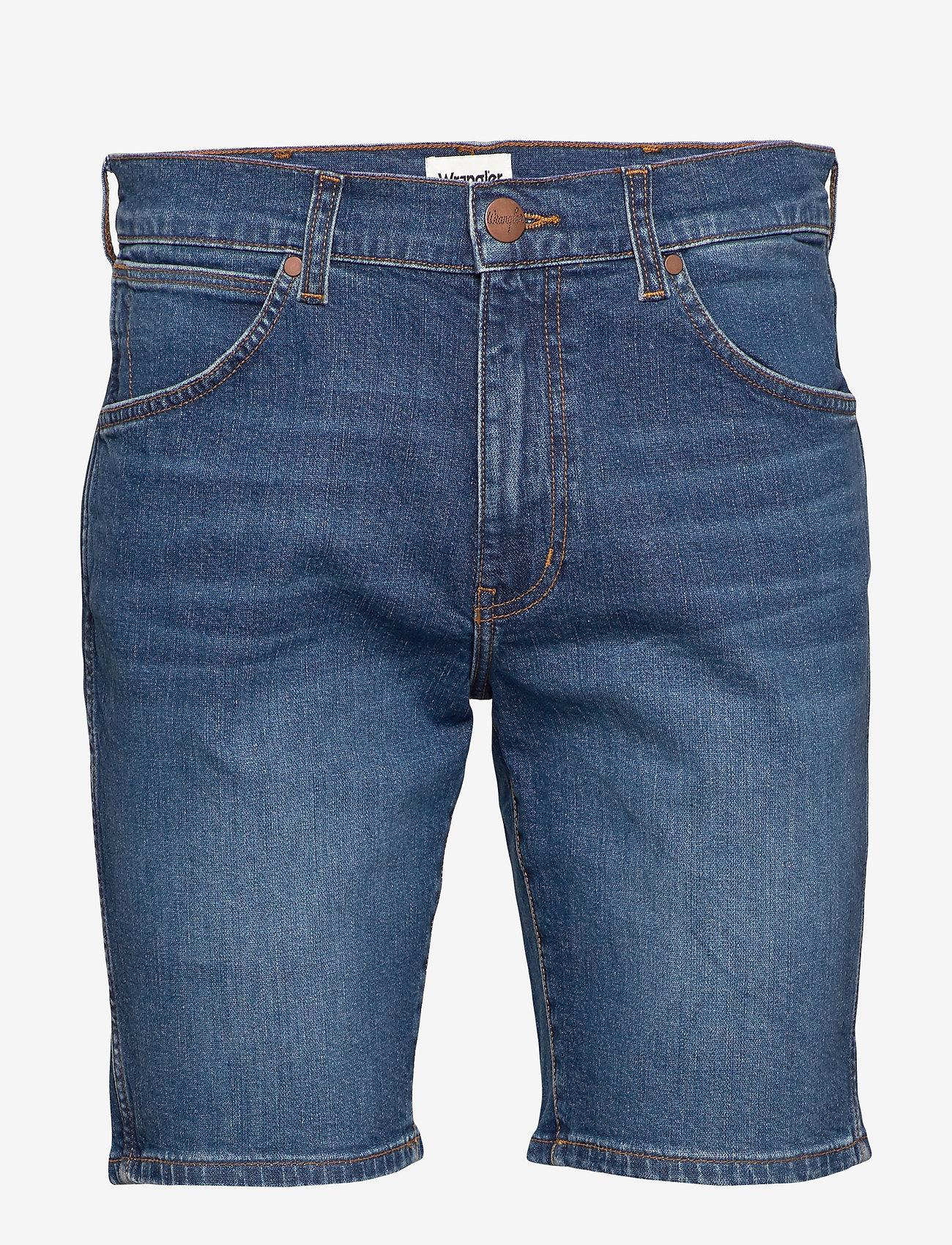 Wrangler - 5 POCKET SHORT - denim shorts - game on - 0