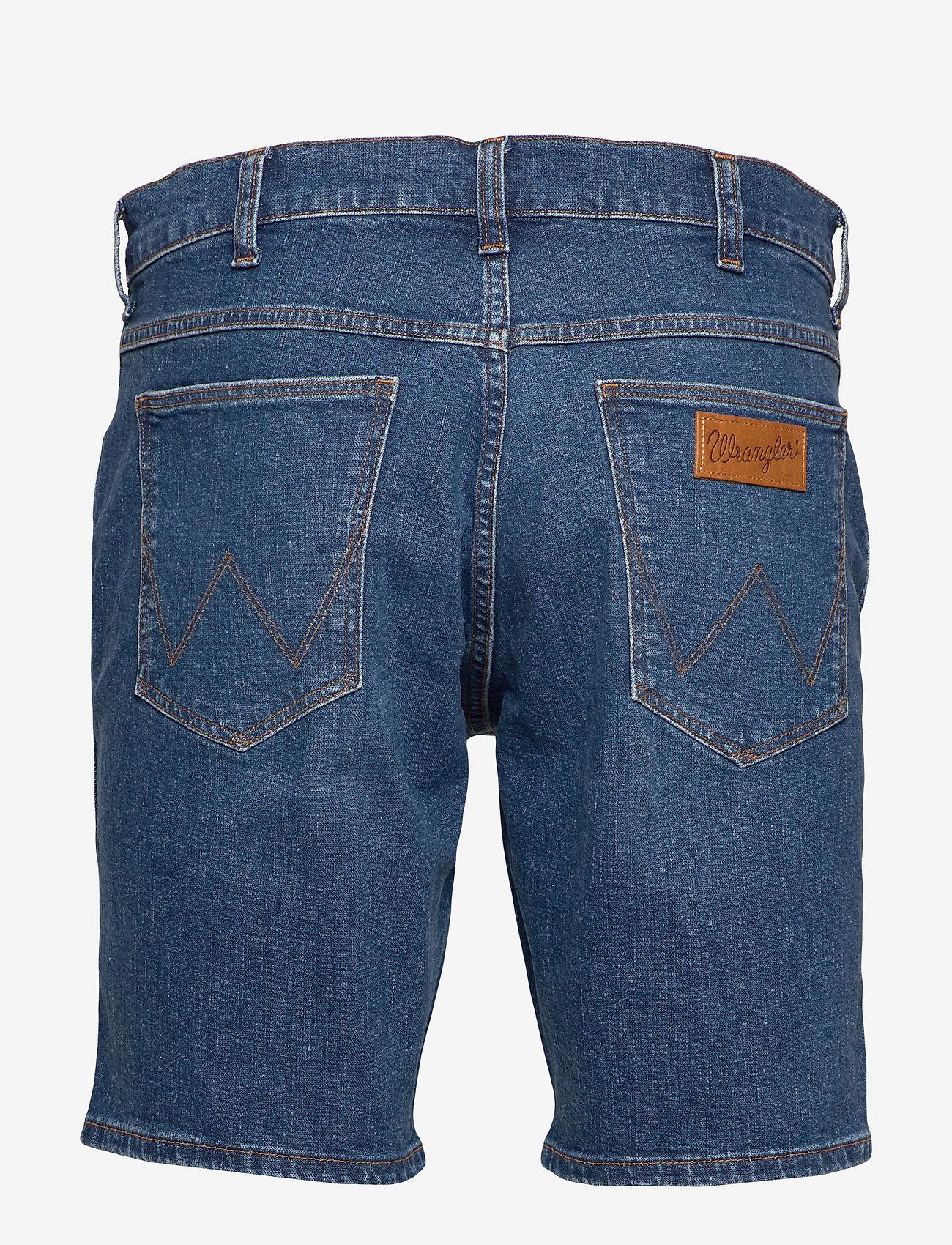 Wrangler - 5 POCKET SHORT - denim shorts - game on - 1