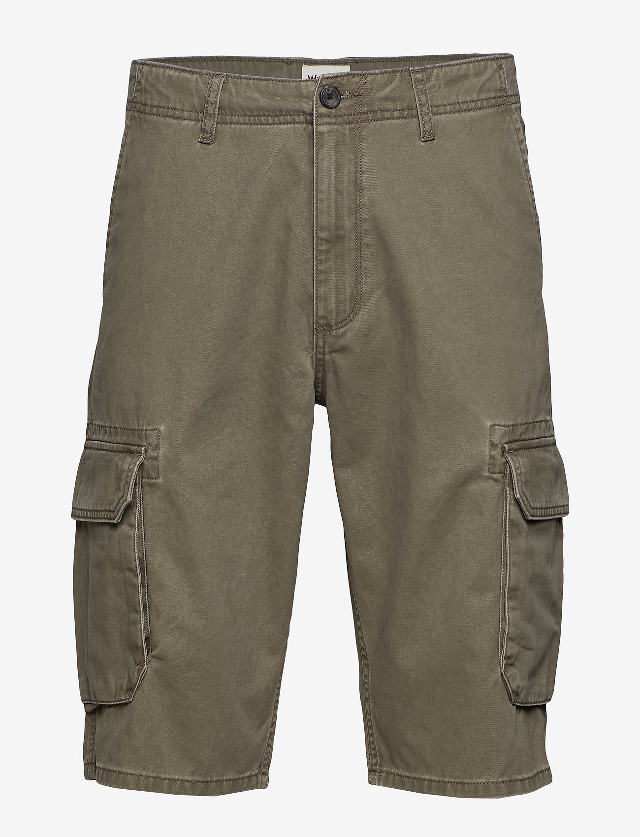 Wrangler - CARGO SHORT - casual shorts - dusty olive