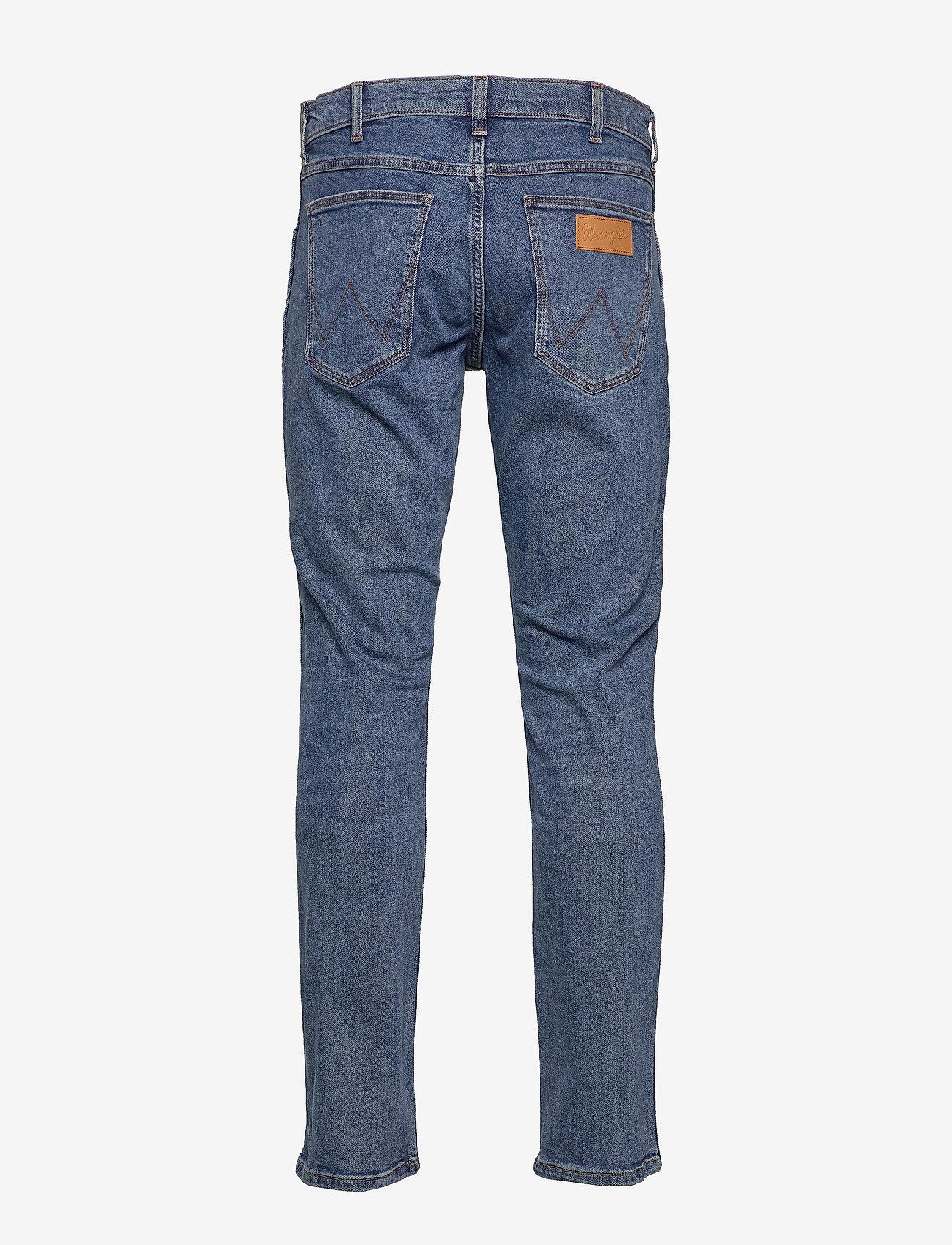Wrangler - GREENSBORO - regular jeans - blue shot