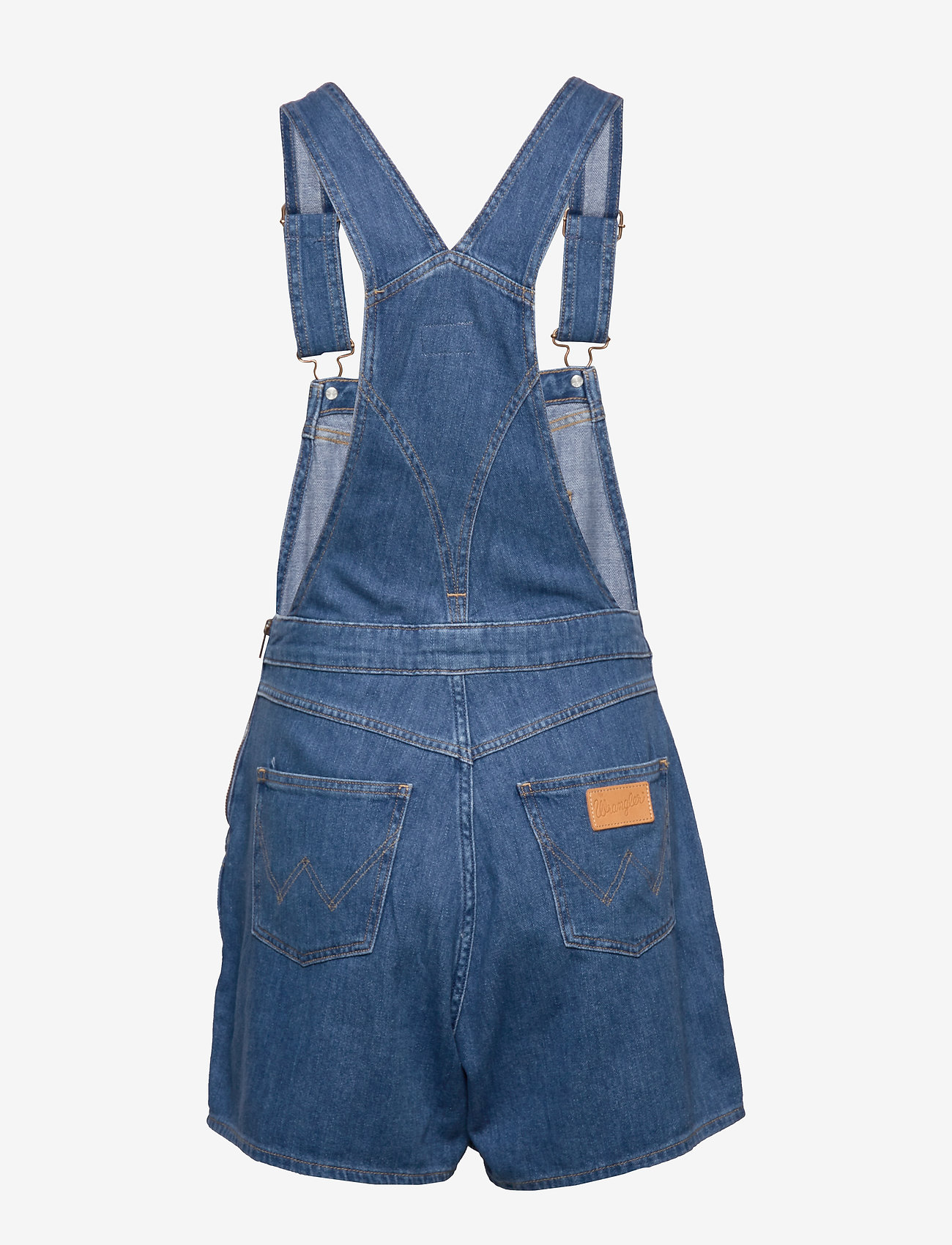 Wrangler - MOM BIB SHORT - jumpsuits - aloha