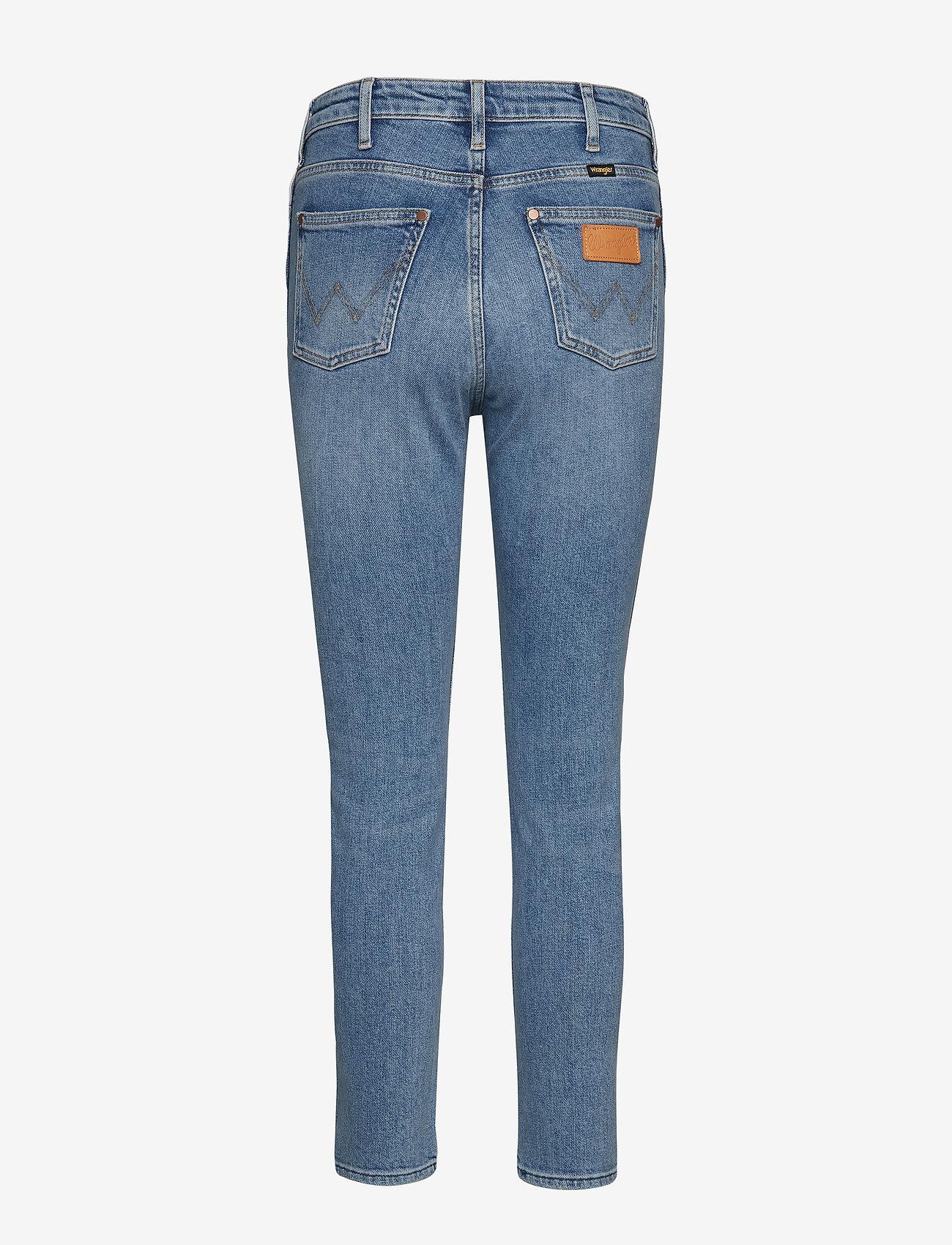 Wrangler - RETRO SKINNY - skinny jeans - blue hawaii