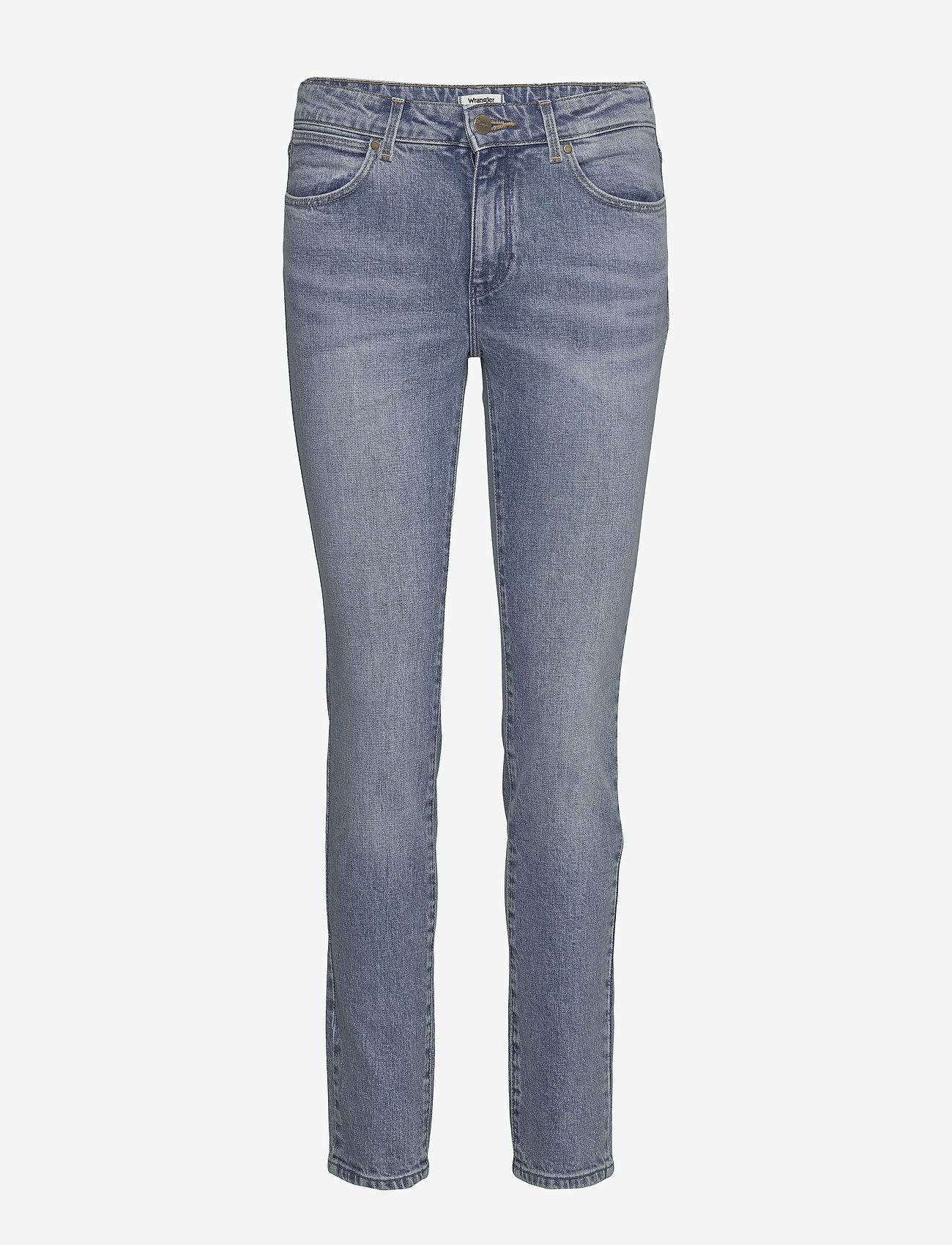 Wrangler - SLIM - slim jeans - stoned - 0