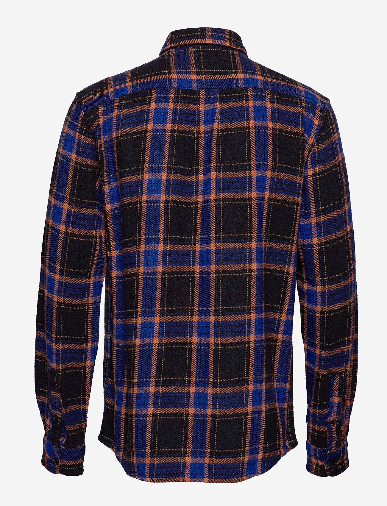 Ls 2 Pkt Flap Shirt Black (Black) - Wrangler rcq49c