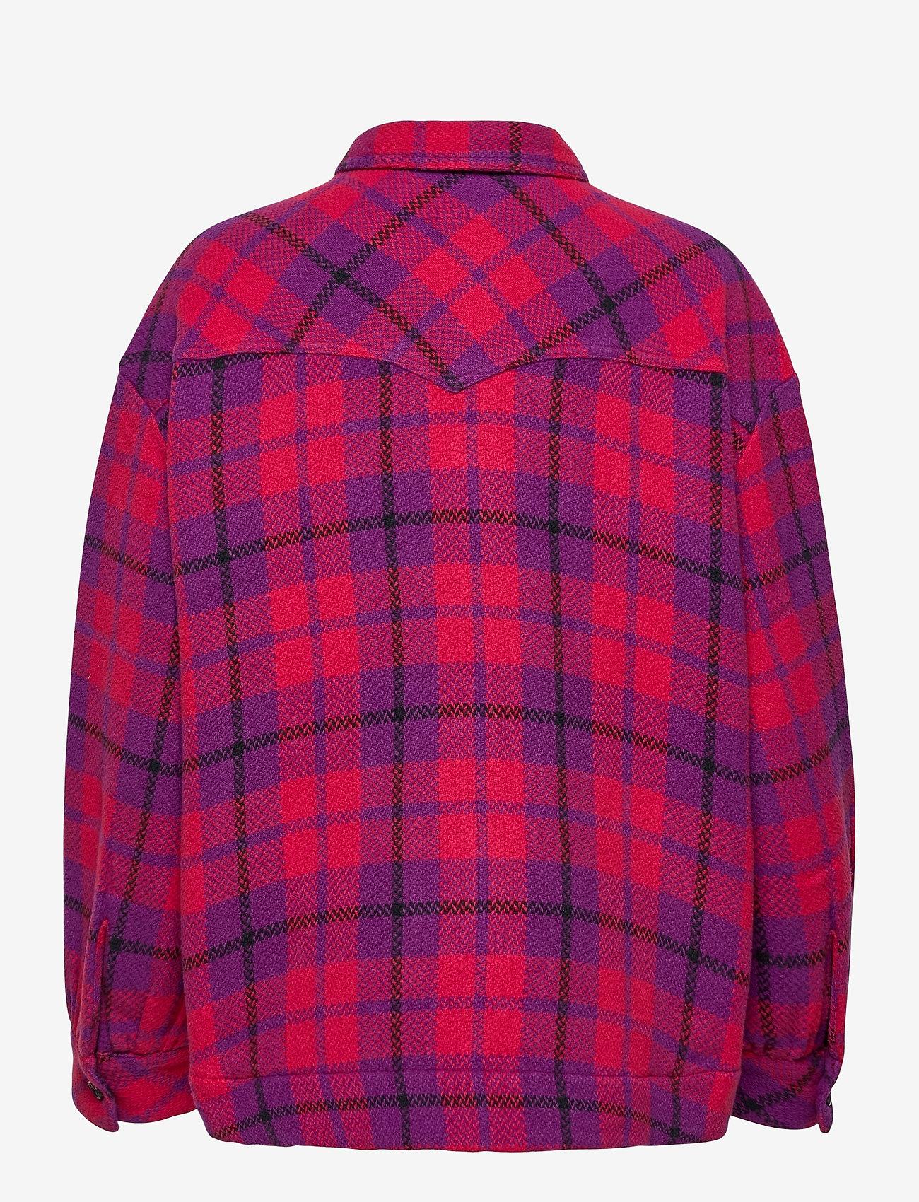 Wrangler - WESTERN SHIRT JACKET - overshirts - ultraviolet - 1