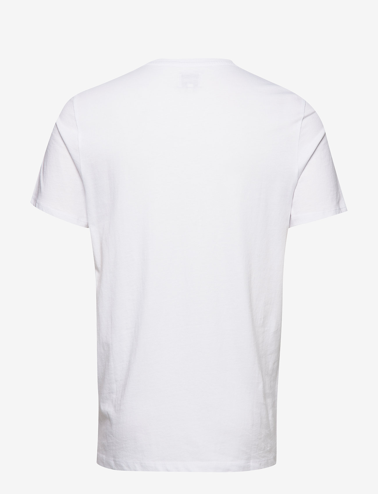 Wrangler SS LOGO TEE - T-skjorter WHITE - Menn Klær