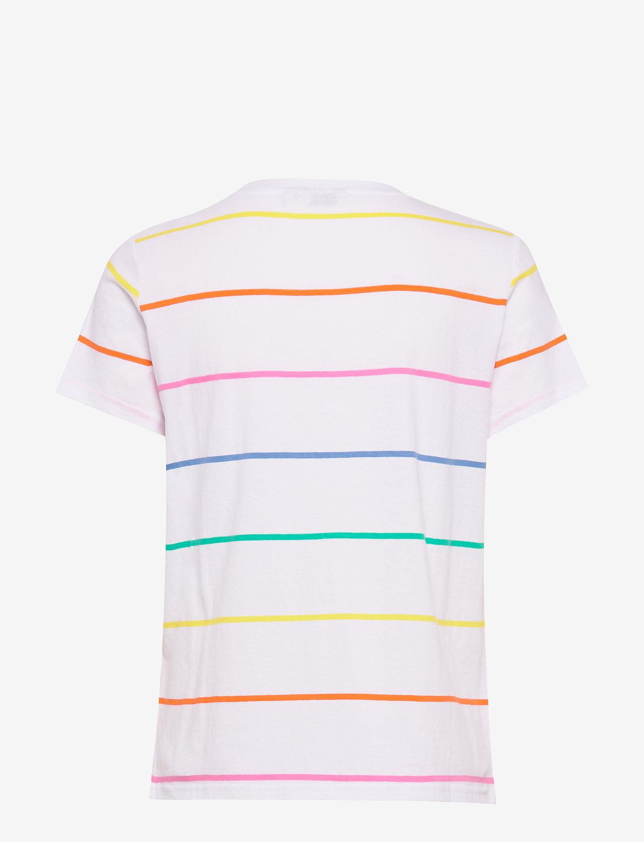 Wrangler - REGULAR TEE - short-sleeved - real white
