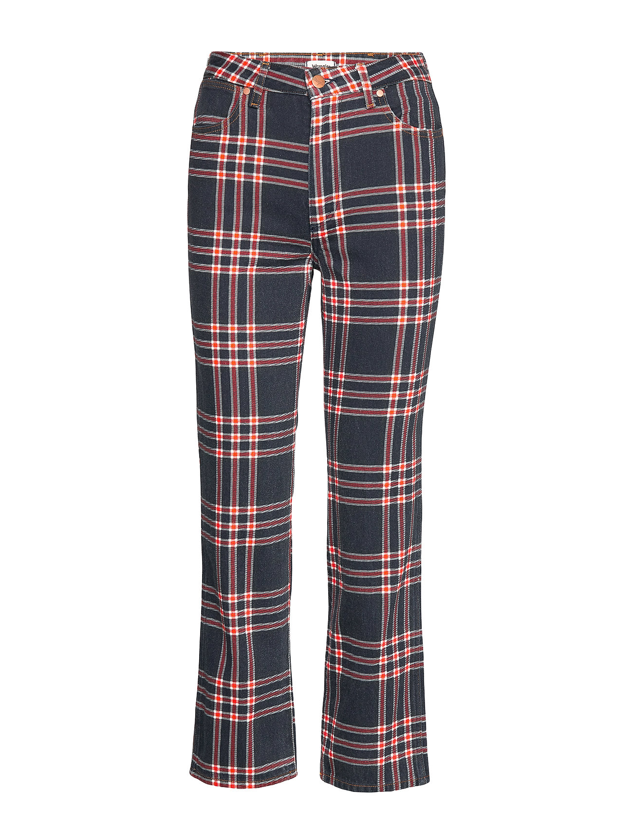 Wrangler THE RETRO INDIGO CHECK - INDIGO CHECK