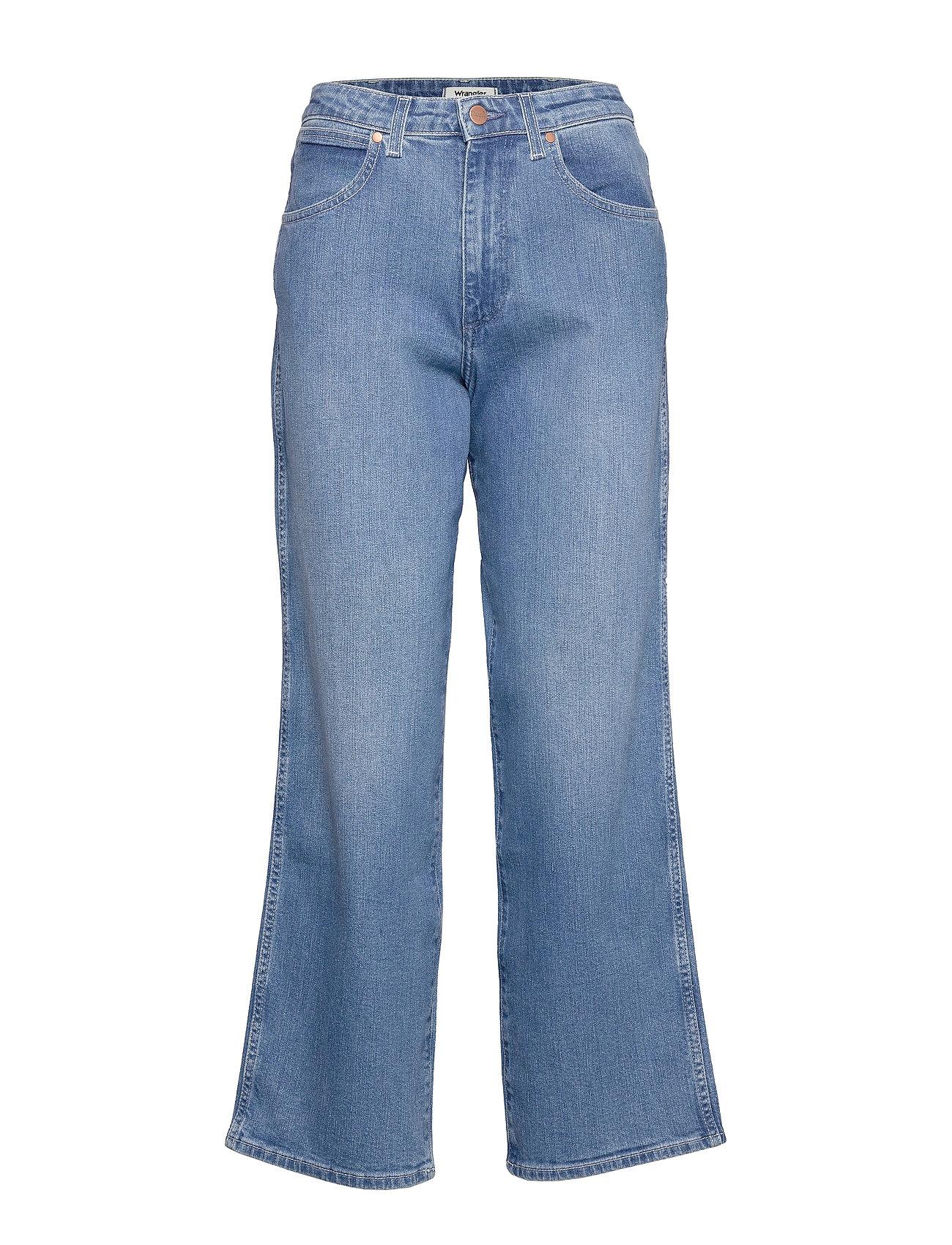 Image of Mom Relaxed Vide Jeans Blå Wrangler (3406319429)