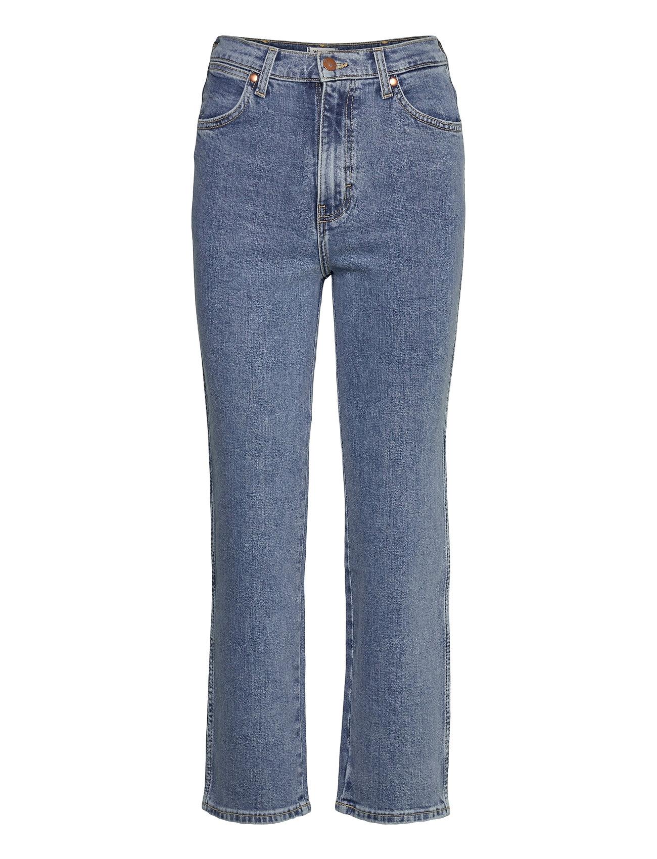 Image of Heritage Fit - Wild Lige Jeans Blå Wrangler (3459863253)