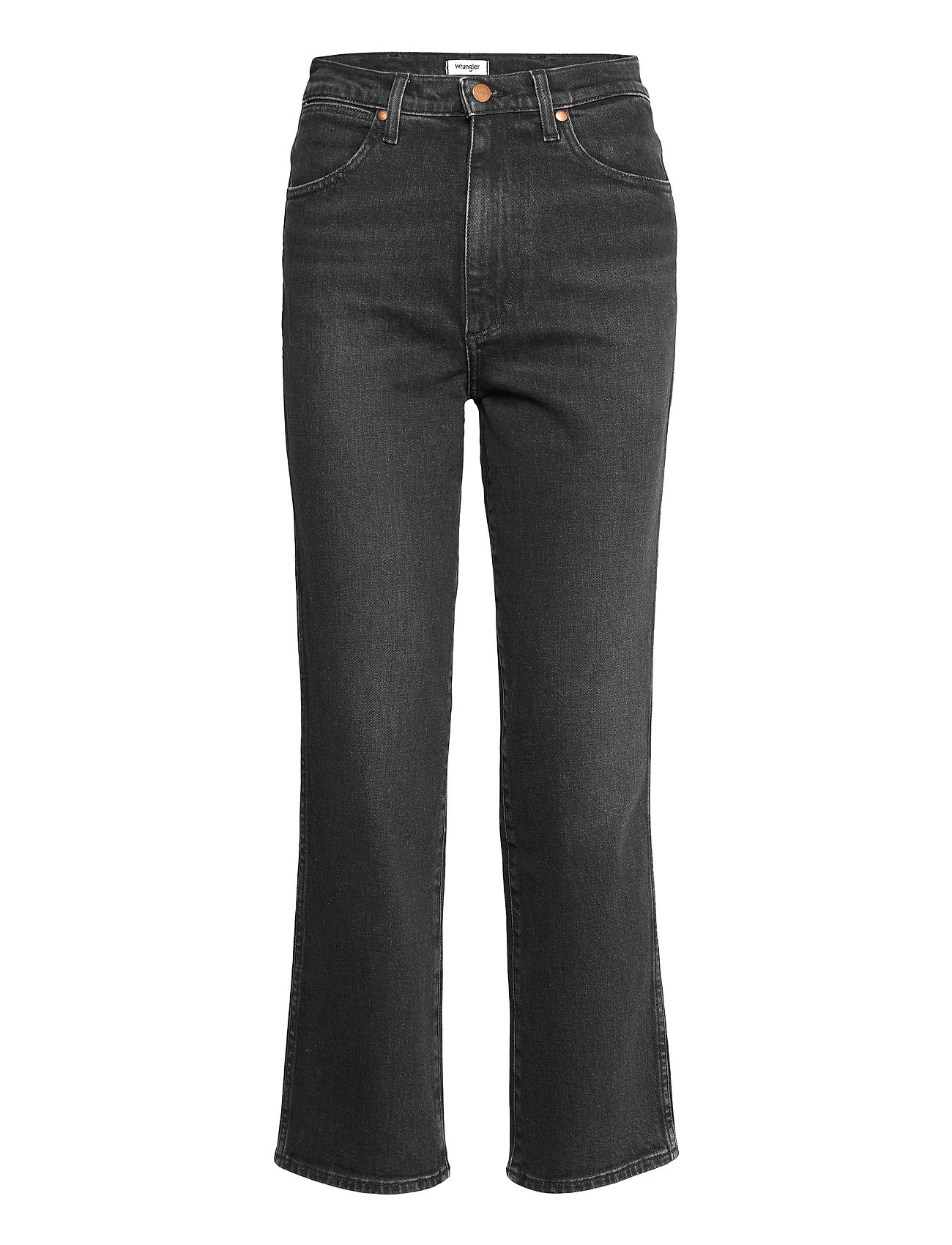 Image of Wild West Lige Jeans Sort Wrangler (3500181185)