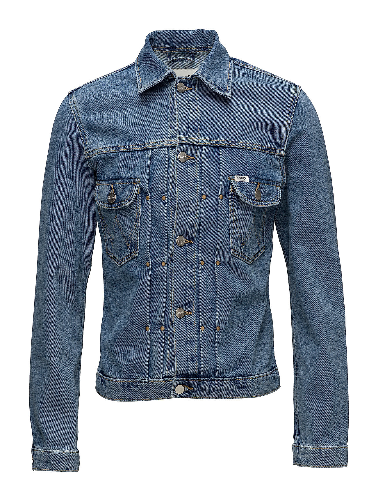 Wrangler RETRO JACKET - KABEL BLUE