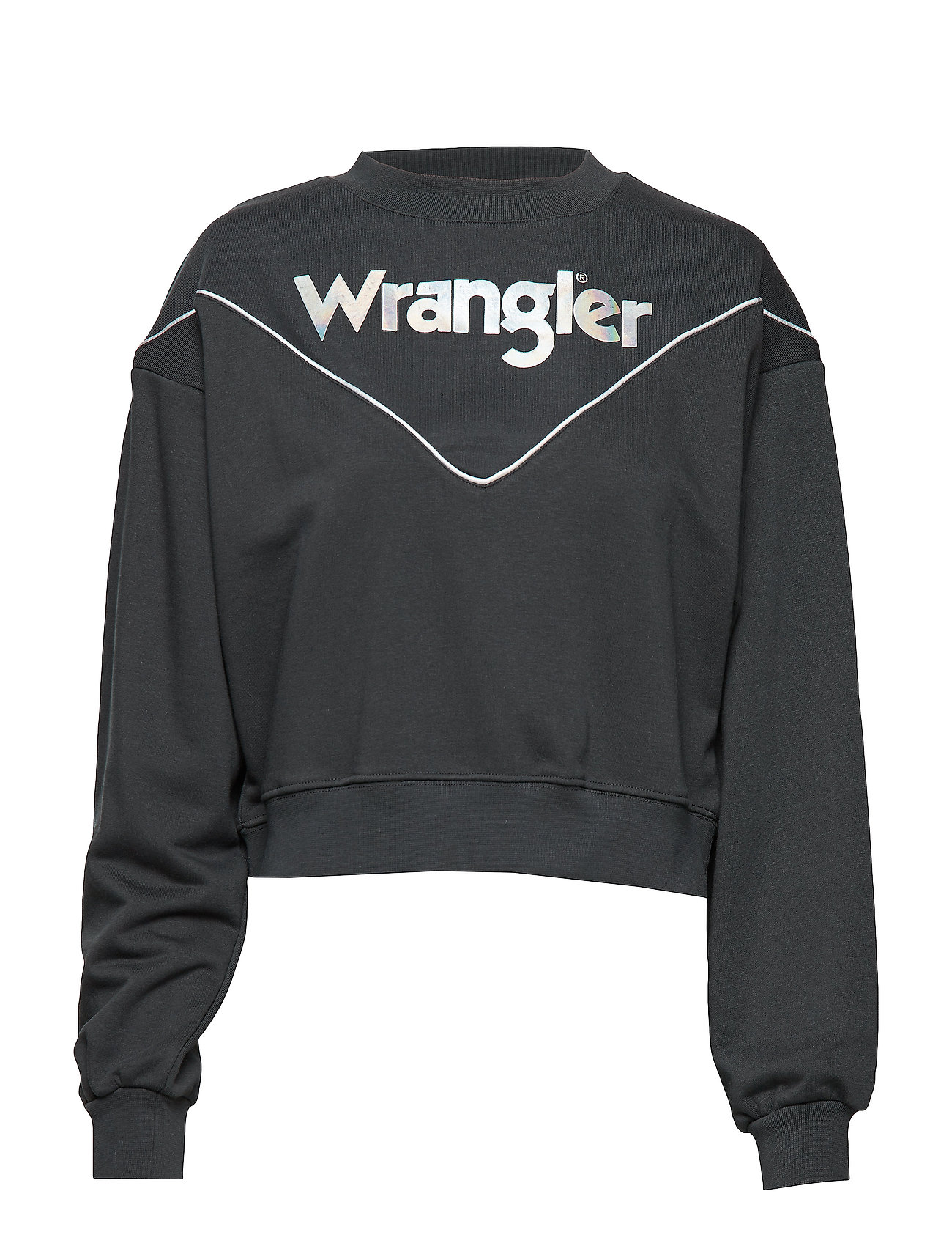 Wrangler 80´S SWEAT - FADED BLACK