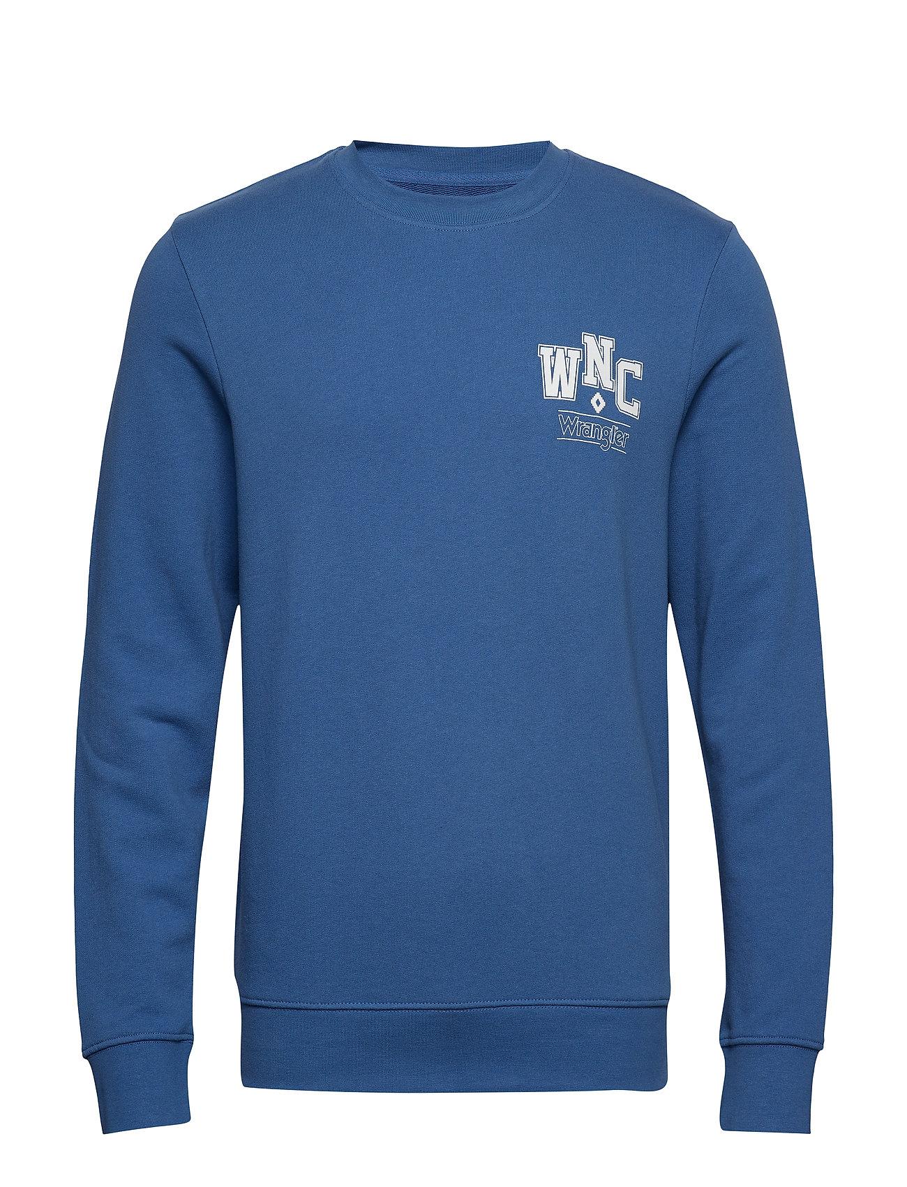 Wrangler WNC CREW - FEDERAL BLUE