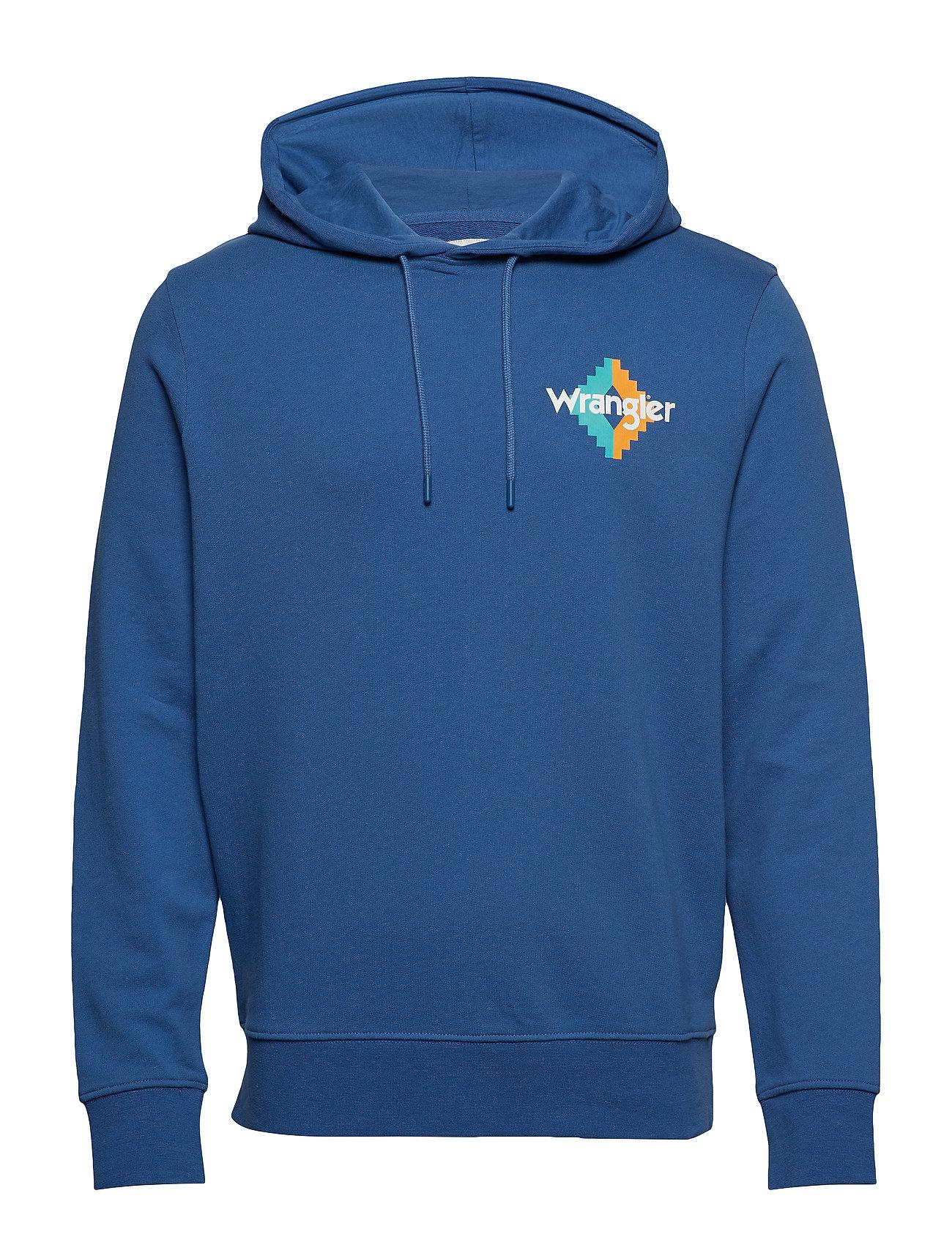 Wrangler WNC HOODIE - FEDERAL BLUE