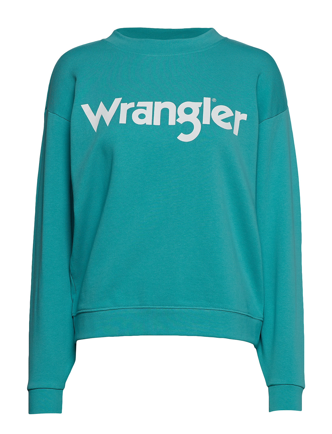Wrangler 80´S RETRO SWEAT - LAGOON
