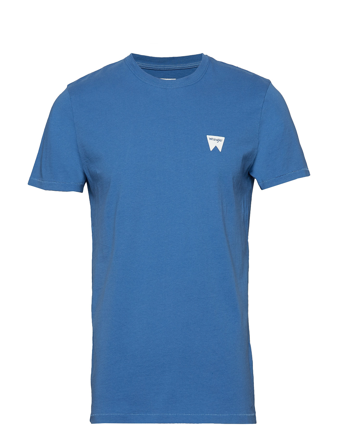 Wrangler SS SIGN OFF TEE - FEDERAL BLUE