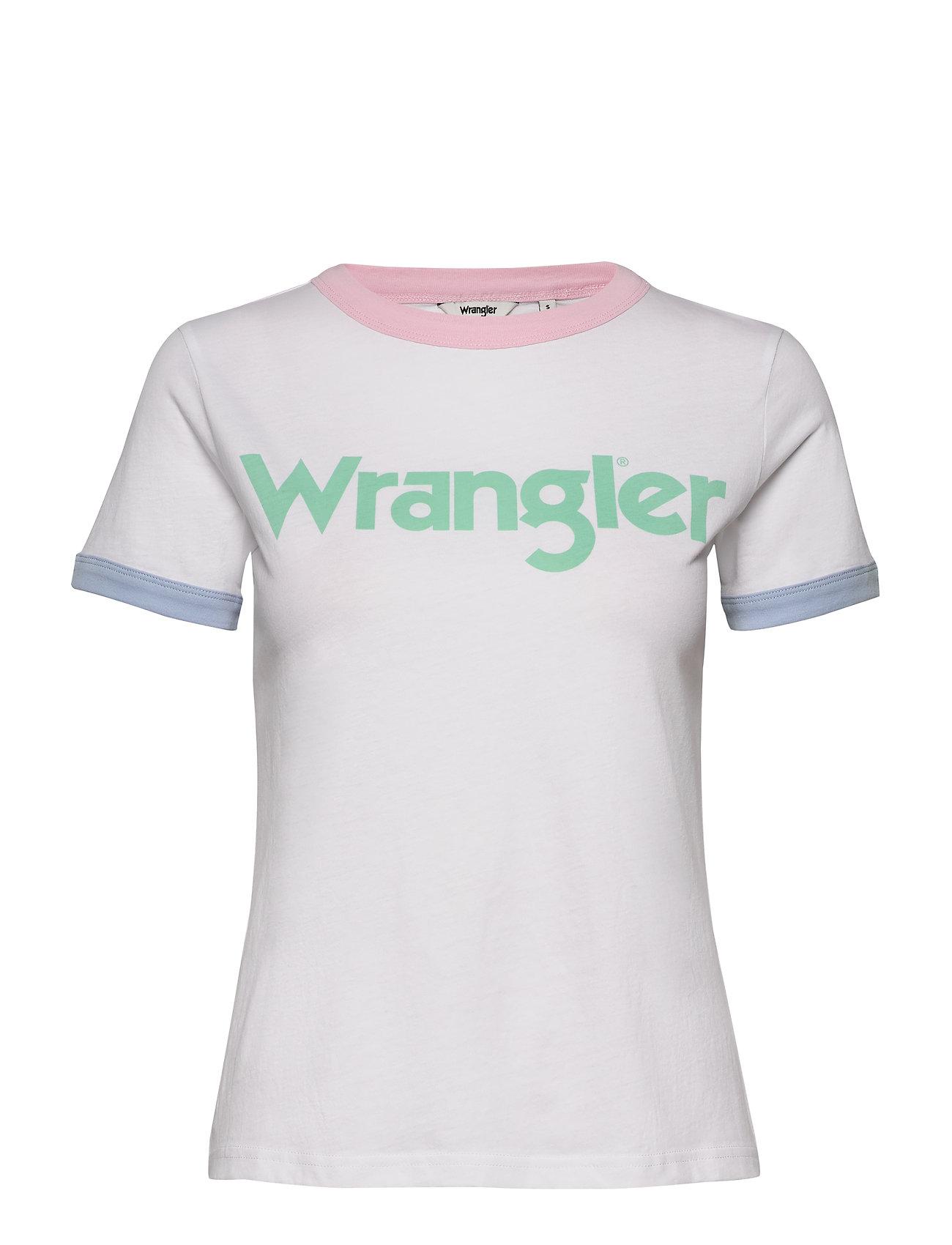 Wrangler RINGER TEE - REAL WHITE