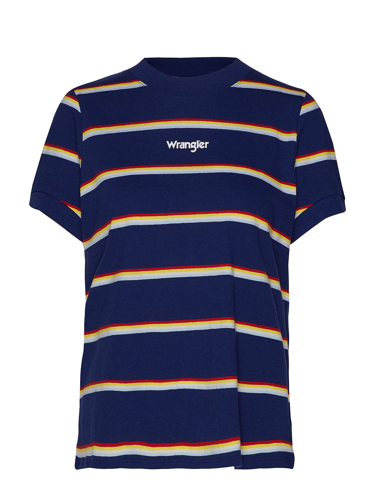 Wrangler 80´S REGULAR TEE - BLUE DEPTHS