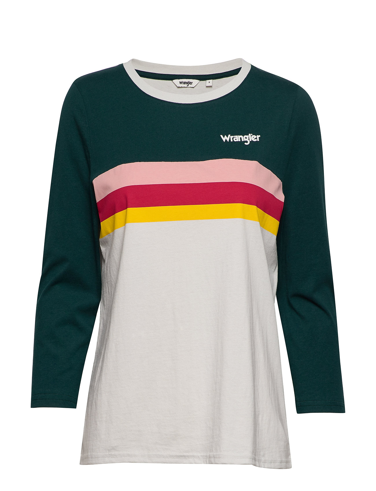 Wrangler RAINBOW TEE - CLOUD BLUE