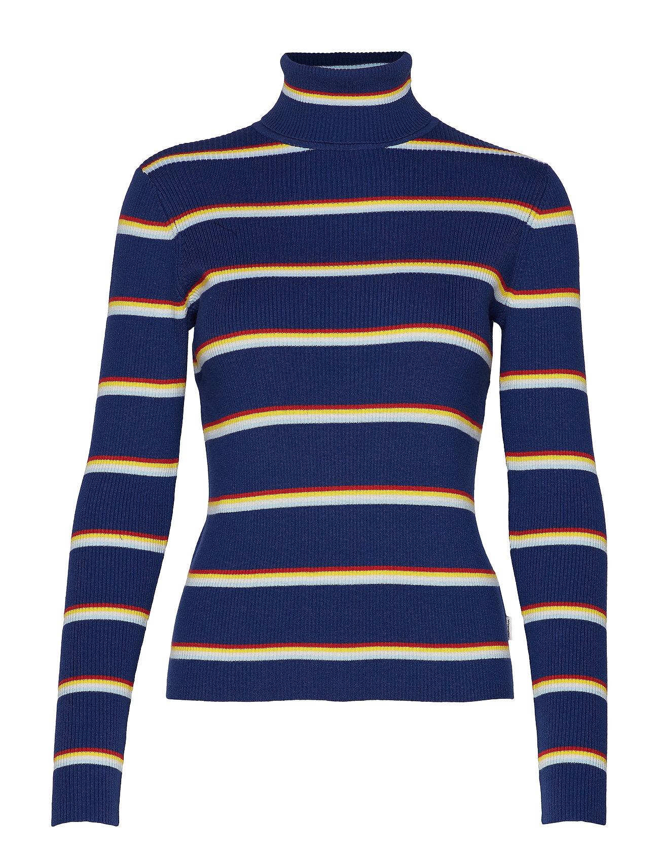 Wrangler TURTLE NECK - BLUE DEPTHS