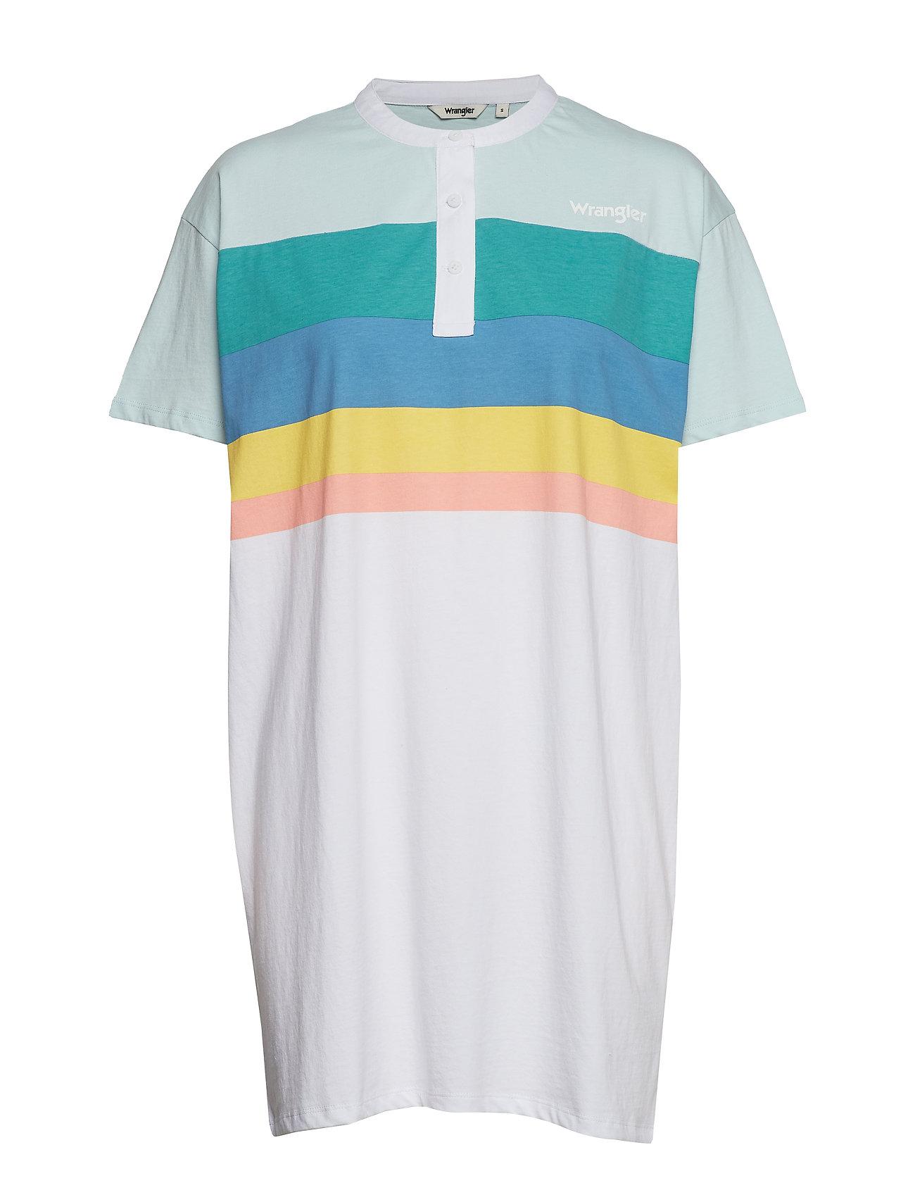 Wrangler POLO DRESS - WHITE