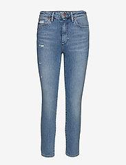Wrangler - RETRO SKINNY - skinny jeans - blue hawaii - 0