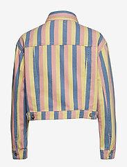 Wrangler - CROPPED JACKET - vestes en jean - sunny stripes - 1