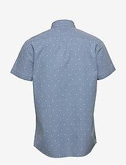 Wrangler - SS 1 PKT SHIRT - short-sleeved shirts - cerulean blue - 1
