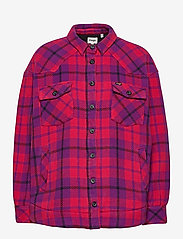 Wrangler - WESTERN SHIRT JACKET - overshirts - ultraviolet - 0