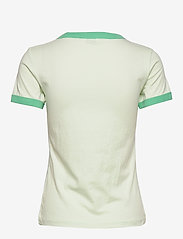 Wrangler - RINGER TEE - logo t-shirts - almost aqua - 1